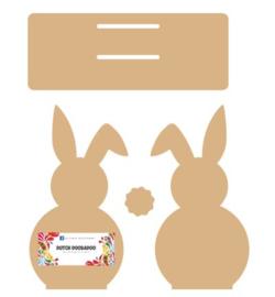 Napkin holder Bunny