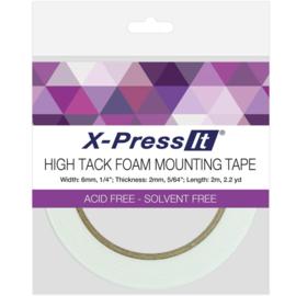 "High Tack Foam Mounting Tape .25""X2.2yd"