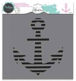 Textile Stencil Anchor
