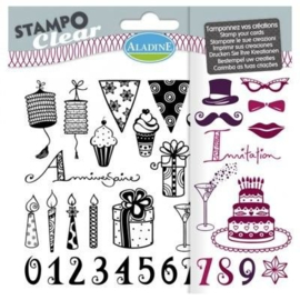 Stampo Clear Adult Birthday
