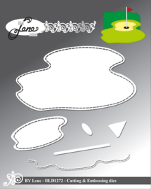 Cutting & Embossing Dies Golf Course