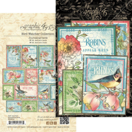 Bird Watcher Ephemera & Journaling Cards
