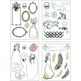 Spellbinders Jane Davenport Colorist Sticker Booklet