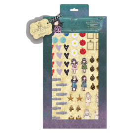 Gorjuss Charm Embellishment Kit