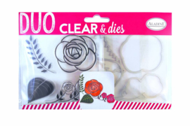 Clear Stamps & Dies Rose