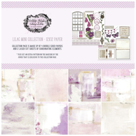 "Vintage Artistry Lilac Collection Pack 12""X12"""