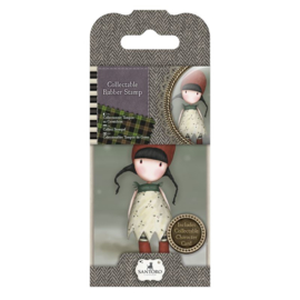 Gorjuss Collectable Rubber Stamp No. 19 Holly