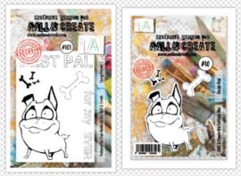 Dies #010 and Stamp #101