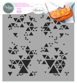 Textile Stencil Geometric 2