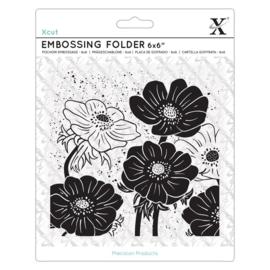 Full Bloom Helleborus 6x6 Inch