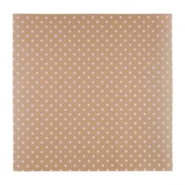 Patterned single-sided pink 3D dot