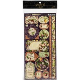 Fruit & Flora Cardstock Stickers