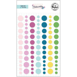 Noteworthy Enamel Dot Stickers
