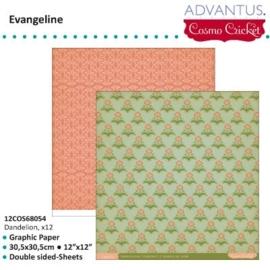 Evangelin paper dandelion