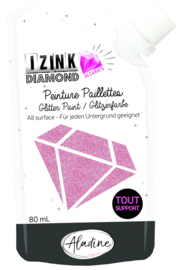 Izink Diamond Glitter Paint 24 Carats Dark Pink