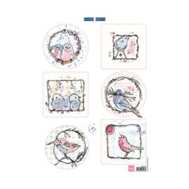 MM1602 Pastel birds