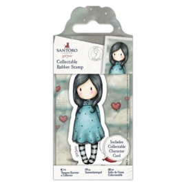 Gorjuss Collectable Rubber Stamp Let Down