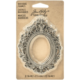 Baroque Frames Antique Nickel