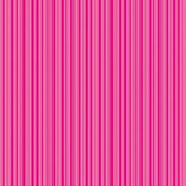 Patterned single-sided d.pink stripe
