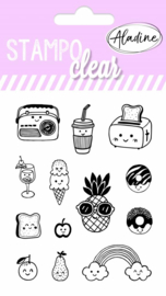 Clear Stamps Kawaii