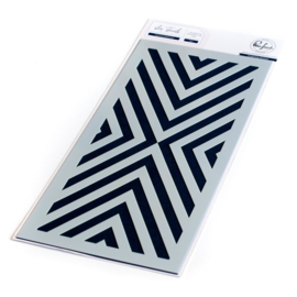 """Inverted Diamond Stencil 4""""X9"""""""