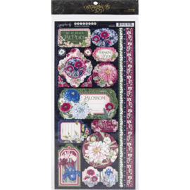 Blossom Cardstock Stickers