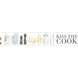 Kiss The Cook Cooking Washi Tape