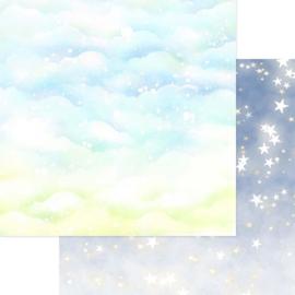Sparkly Sky Blue