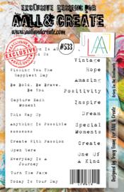 #533 - A5 Stamp Set