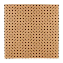 Patterned single-sided black 3D dot