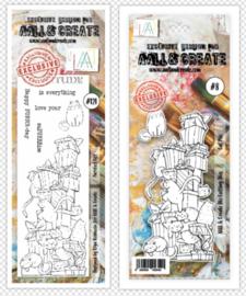 Dies #008 And Stamp #121