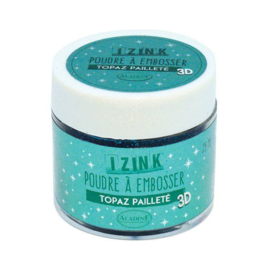 Embossing Powder Topaz Paillete