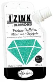 Izink Diamond Glitter Paint Turquoise
