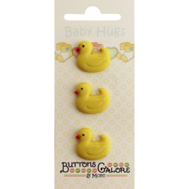 Baby Hugs Buttons Ducky