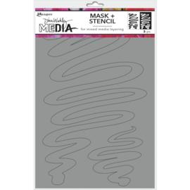 Stencils + Masks Meandering