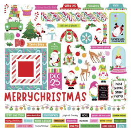 Tulla & Norbert's Christmas Party Stickers Elements