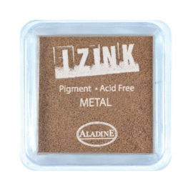 Inkpad Izink Pigment Metal Copper Small