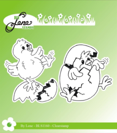 Clear Stamps Chickens