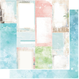 Vintage Artistry Beached Journal Cards