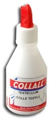 Collall textiellijm waterbestendig 100ml.