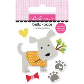 Cooper Oscar Bella-Pops 3d Stickers