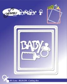 Cutting & Embossing Dies Baby Frame