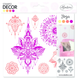 Decor Foam Stamps Yoga