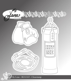 Clear Stamps Boxing
