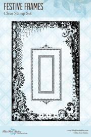 Festive Frames clear stamp