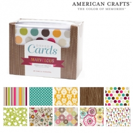 Boxed cards x40 cards & envelopes marvelous
