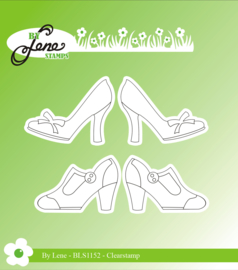 Clear Stamps Women Shoes