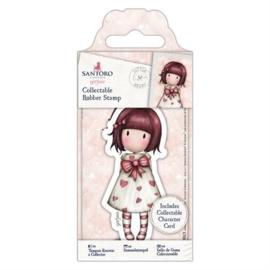Gorjuss Collectable Rubber Stamp Little Heart