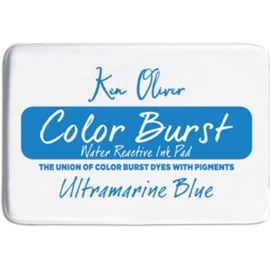 Color Burst Ink Pad Ultramarine Blue