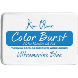 Color Burst Ink Pad Ultramarine Blue